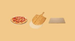 How to use pizza stone without a pizza peel